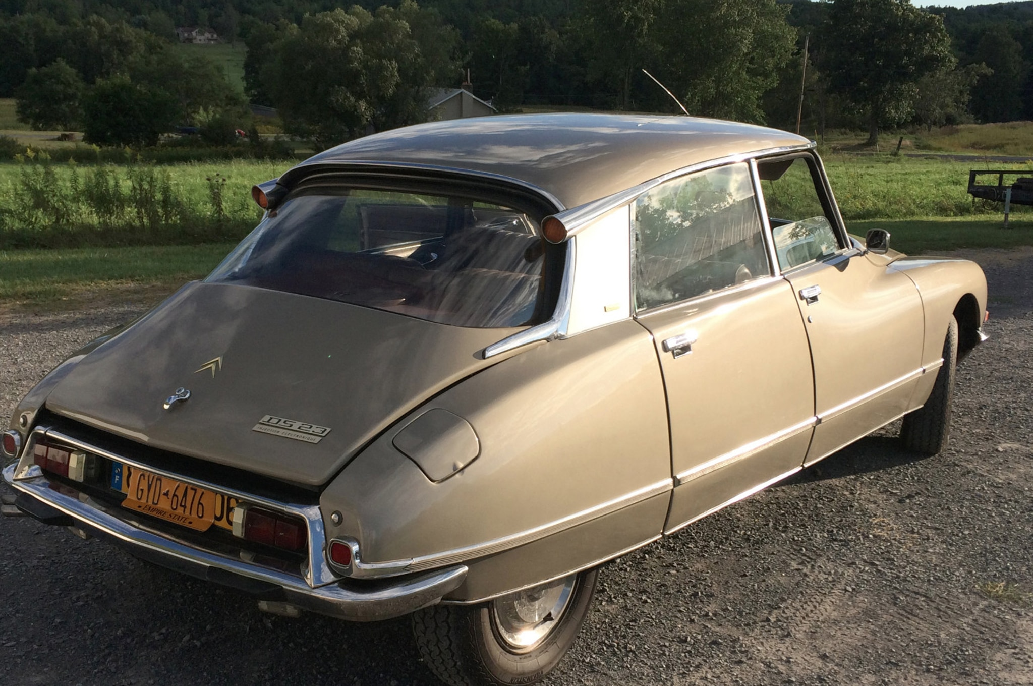 1973 Citroen DS23 Pallas Bring A Trailer Rear Three Quarters