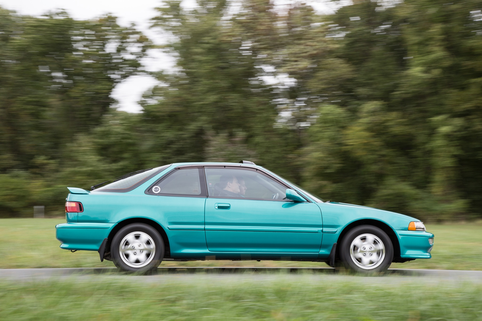 Acura Integra Gs R Side Profile In Motion on Acura Integra Gsr
