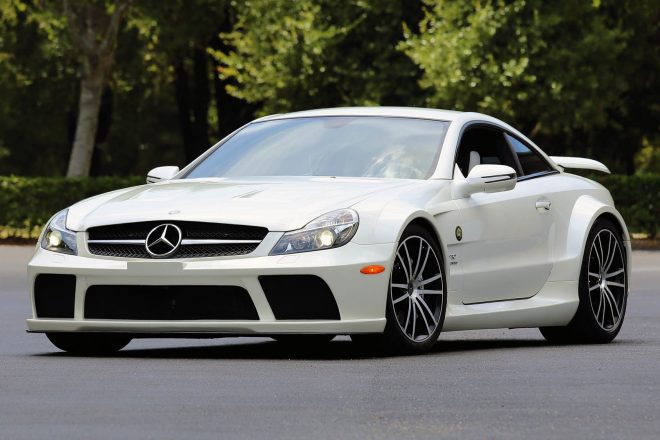 2009 Mercedes Benz SL65 AMG Black Series front three quarter