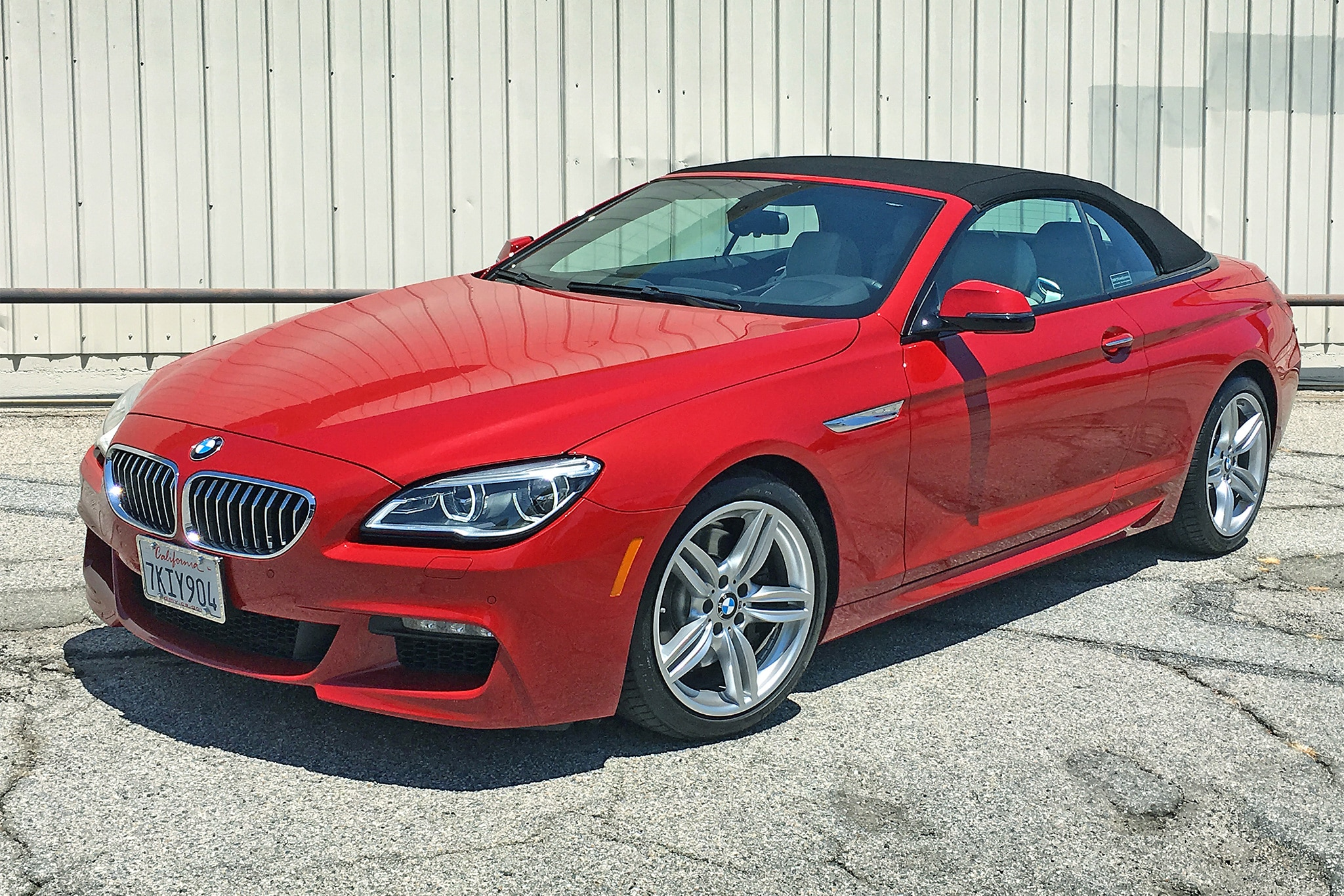 One Week With BMW I Convertible Automobile Magazine - Bmw 640i convertible 2014
