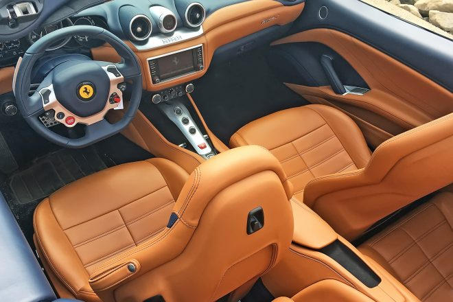 2016 Ferrari California T interior overview