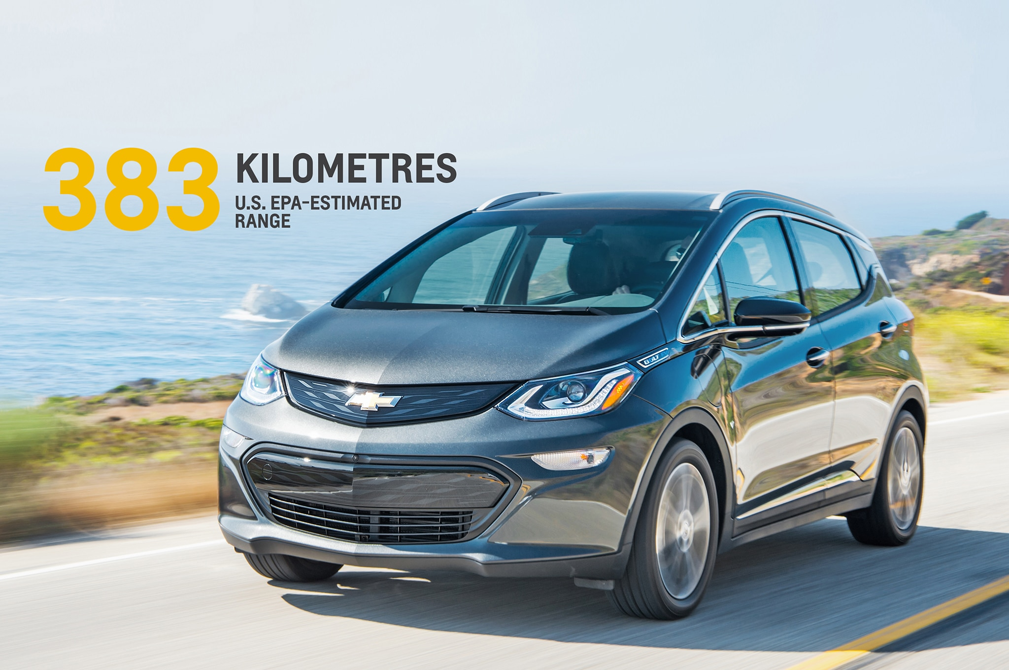 2017 Chevrolet Bolt EV EPA Estimated Range