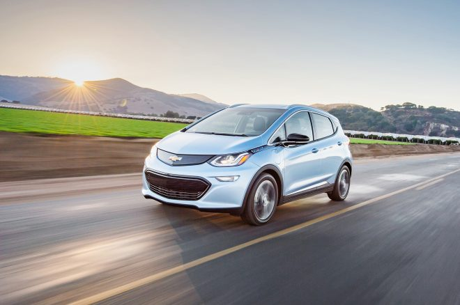 Chevrolet Bolt named Motor Trend Car of the Year