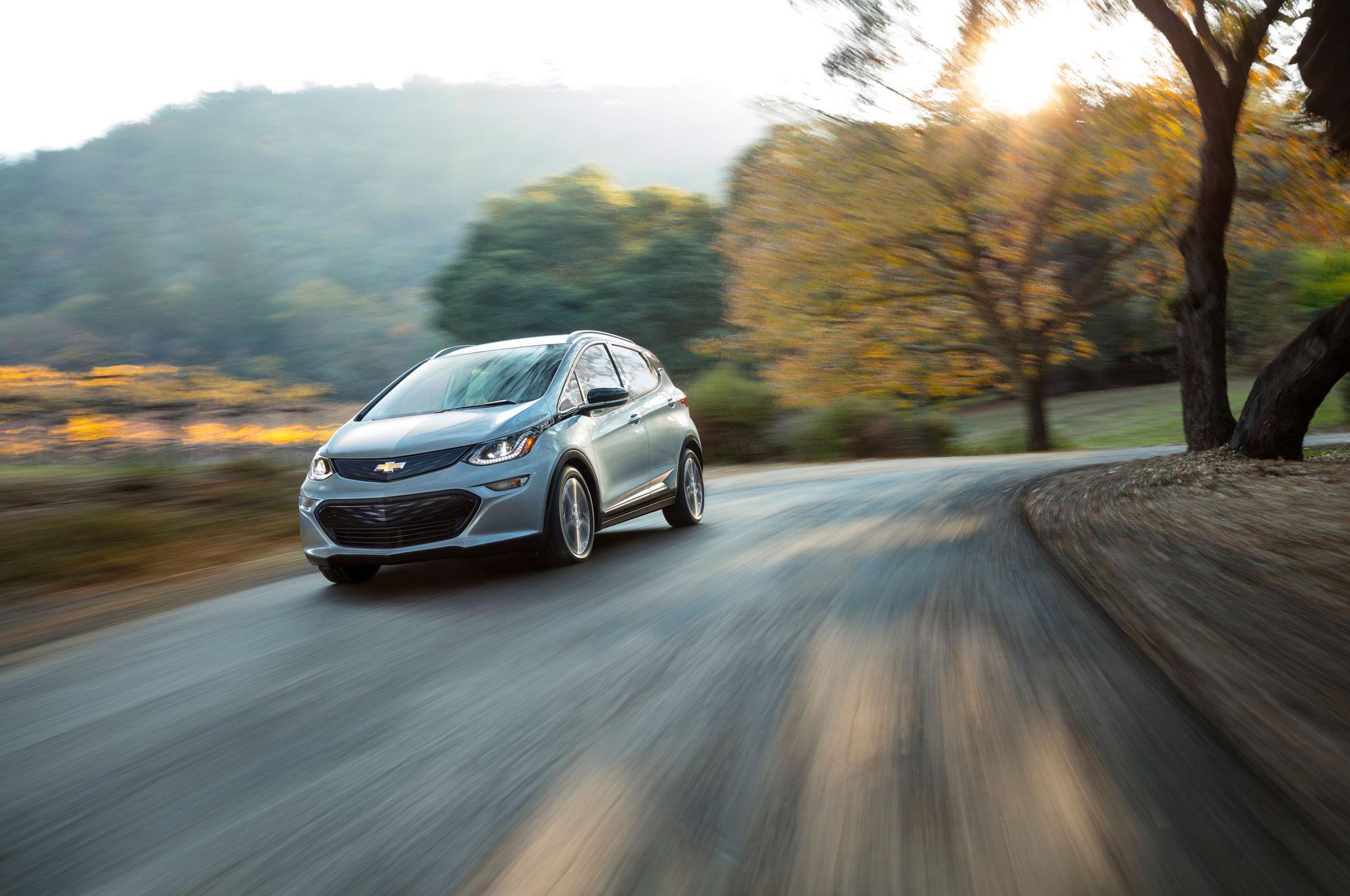 2017 Chevrolet Bolt EV In Motion 1