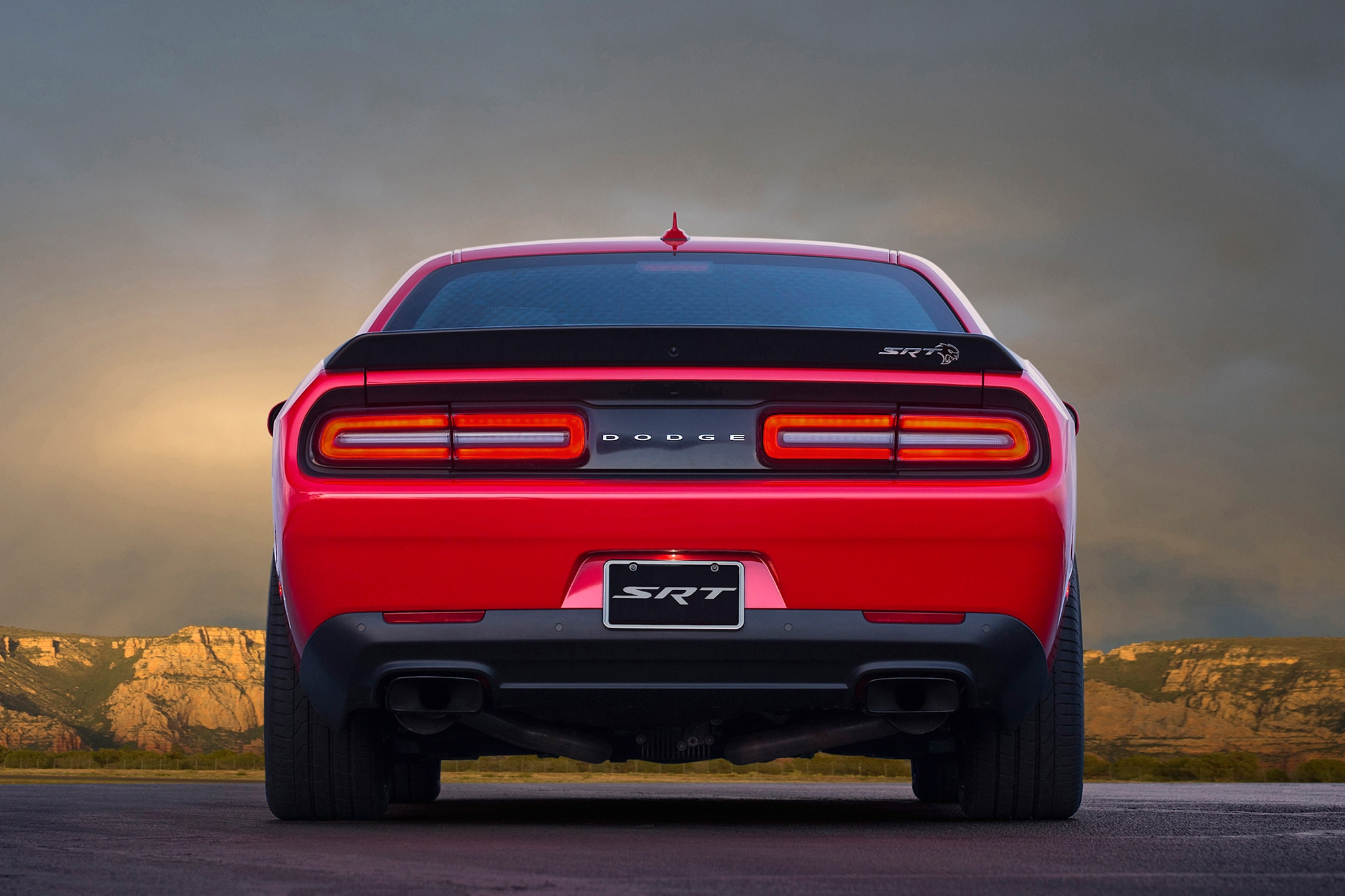 dodge challenger to receive awd variant wide body hellcat adr report automobile magazine. Black Bedroom Furniture Sets. Home Design Ideas