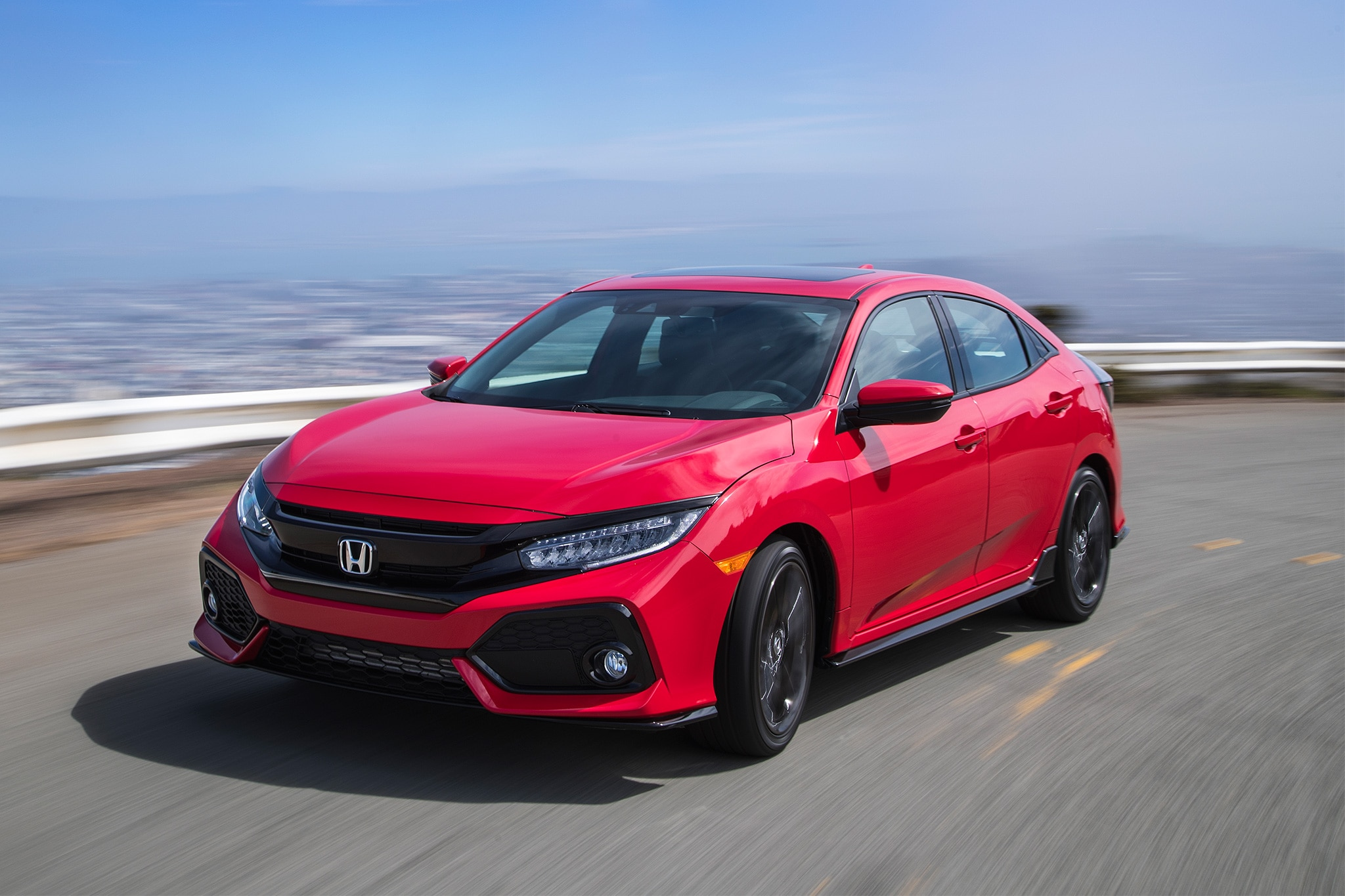 2017 Honda Civic Hatchback Sport Touring Lafayette In