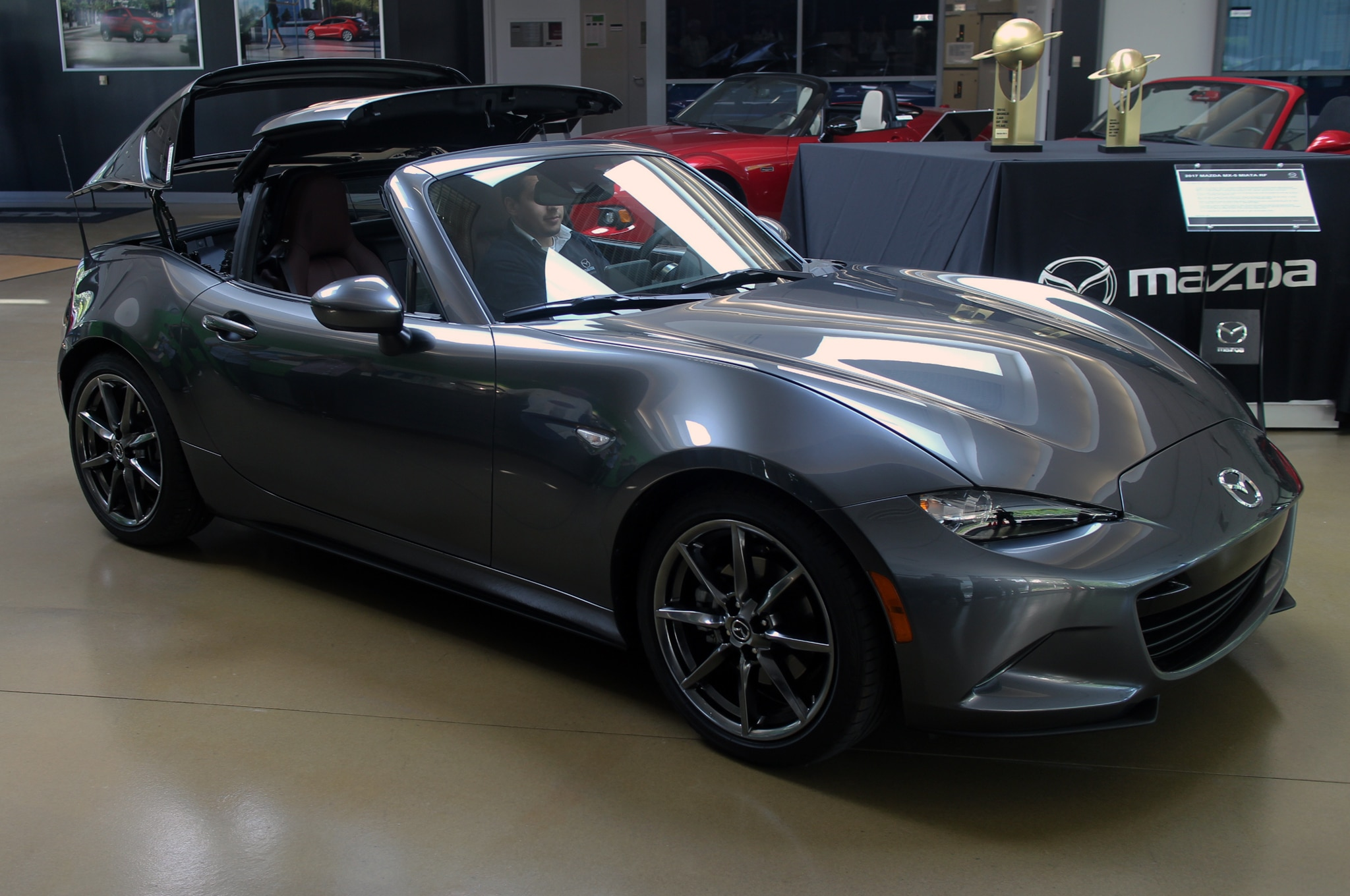 2017 mazda mx 5 miata rf launch edition starts at 34 685 automobile magazine. Black Bedroom Furniture Sets. Home Design Ideas