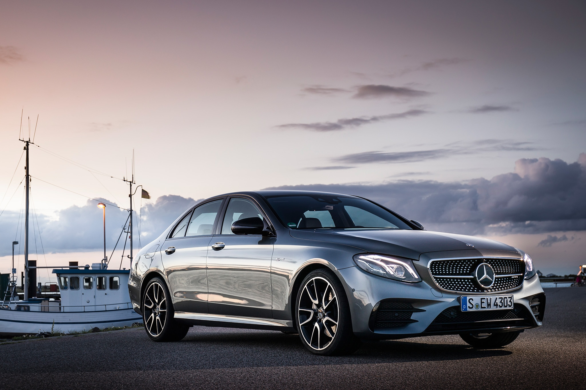 2017 mercedes amg e43 sedan first drive and review for Mercedes benz sedan 2017