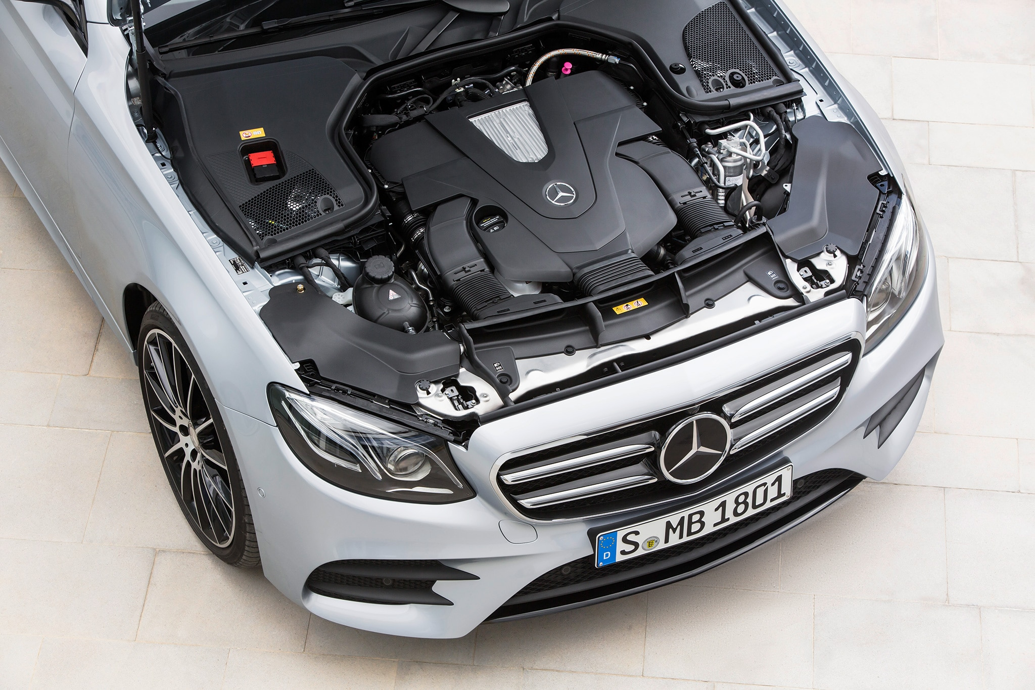 First drive 2017 mercedes benz e400 4matic wagon for Mercedes benz engines