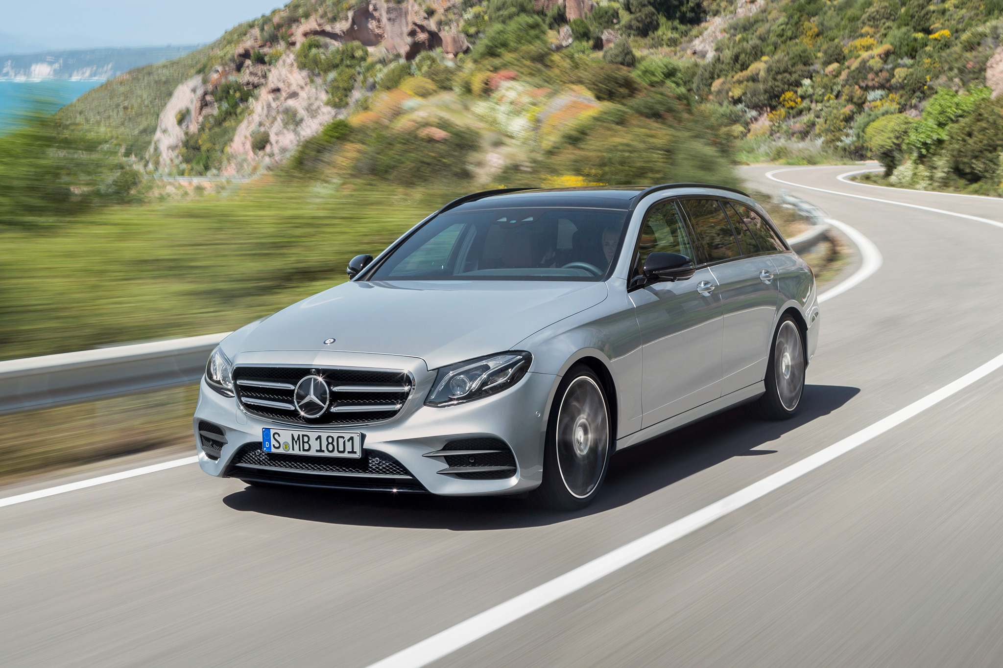 First Drive 2017 Mercedes Benz E400 4matic Wagon