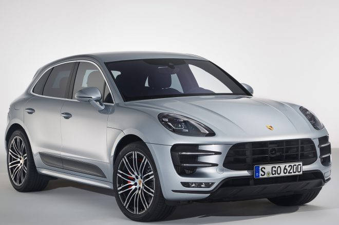 2017 Porsche Macan Turbo Performance Package Front Three Quarters 660x438