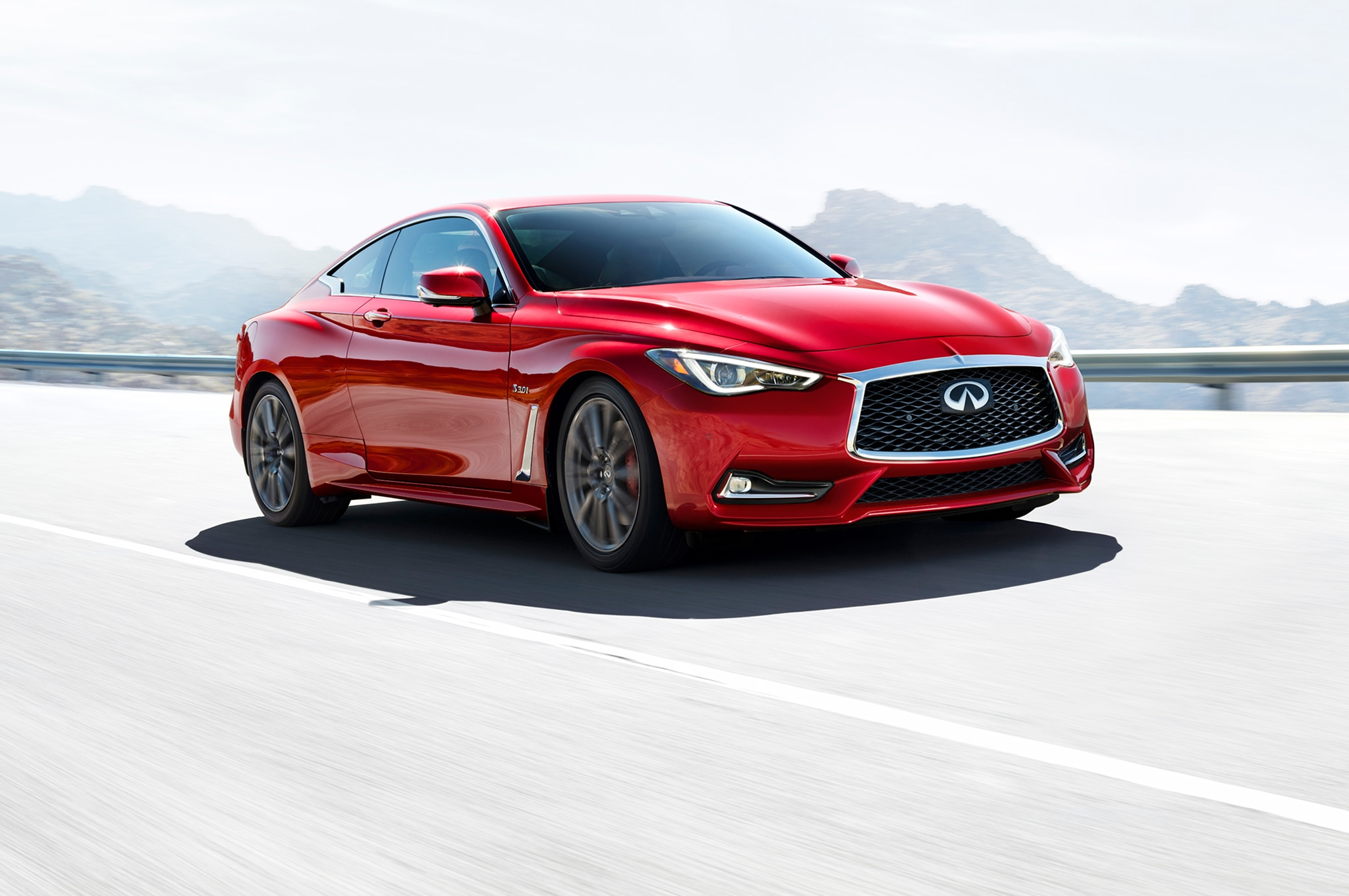2017 infiniti q60 red sport 400 to start at 52 205 automobile magazine. Black Bedroom Furniture Sets. Home Design Ideas