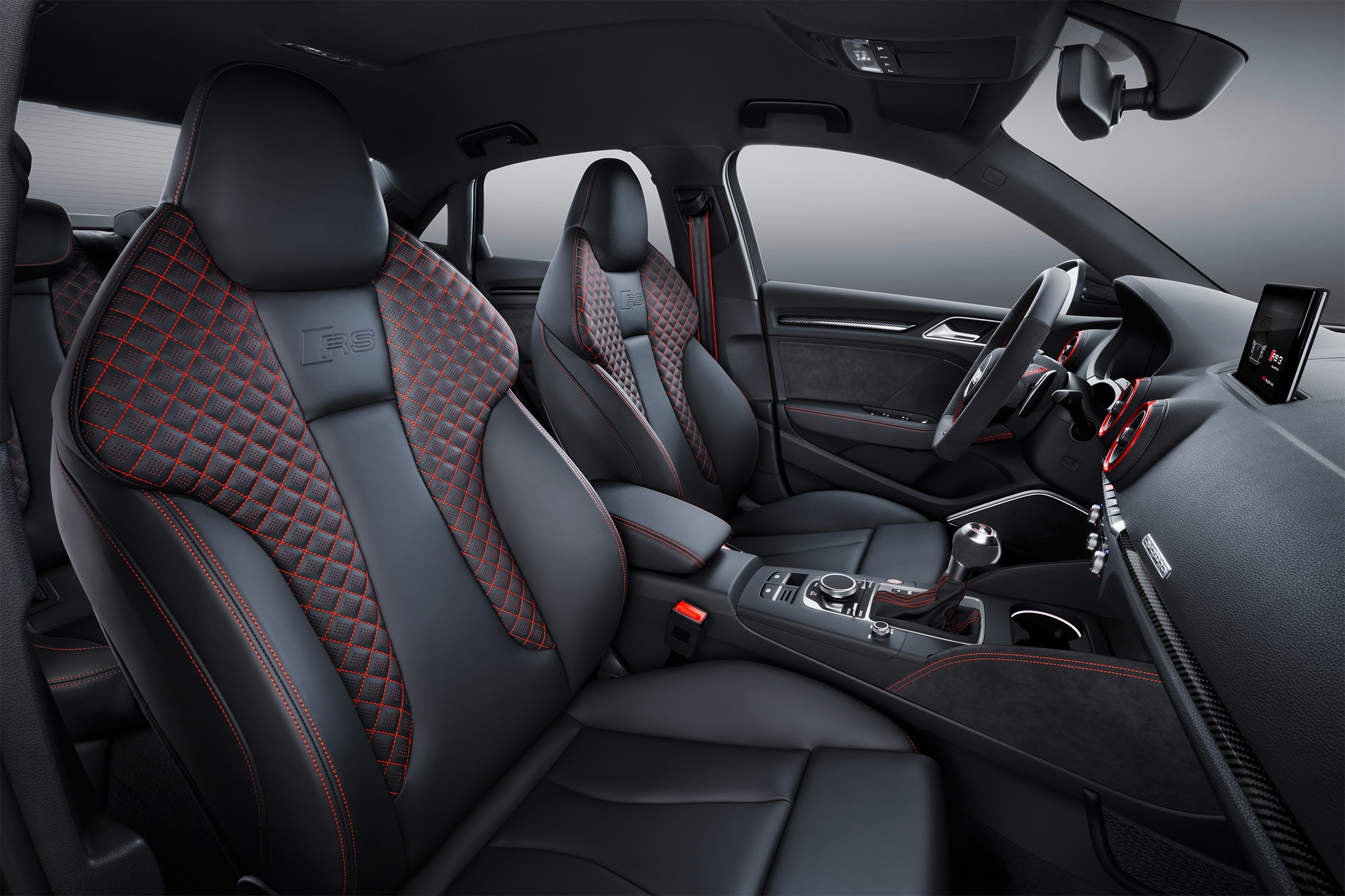 2018 audi rs3 interior. modren rs3 show more inside 2018 audi rs3 interior automobile magazine