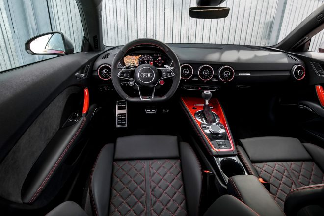 2018 Audi TT RS Coupe cabin 02