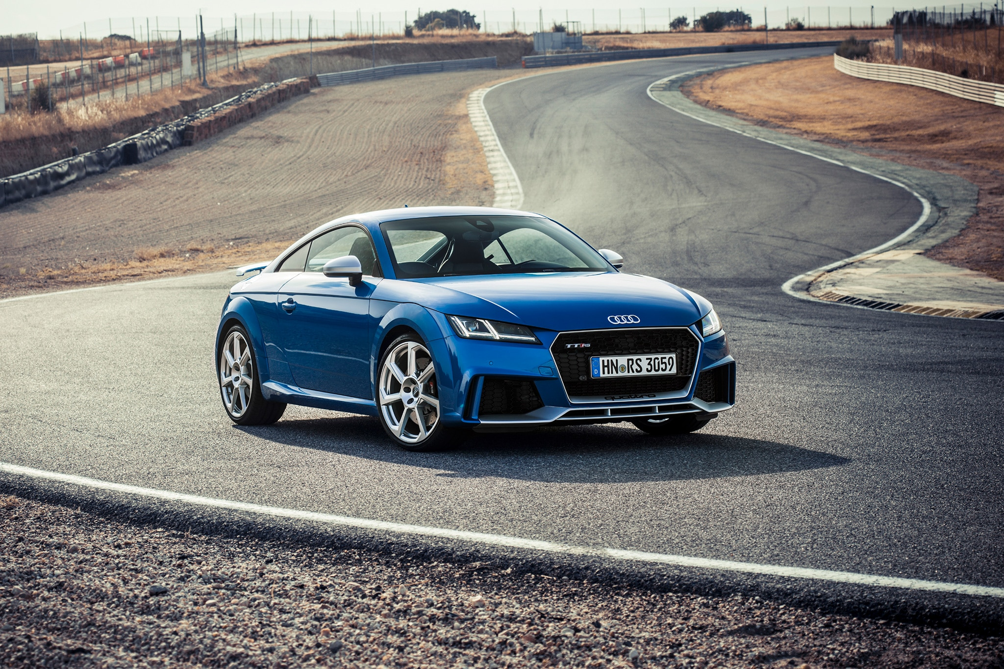 first drive 2018 audi tt rs coupe automobile magazine. Black Bedroom Furniture Sets. Home Design Ideas