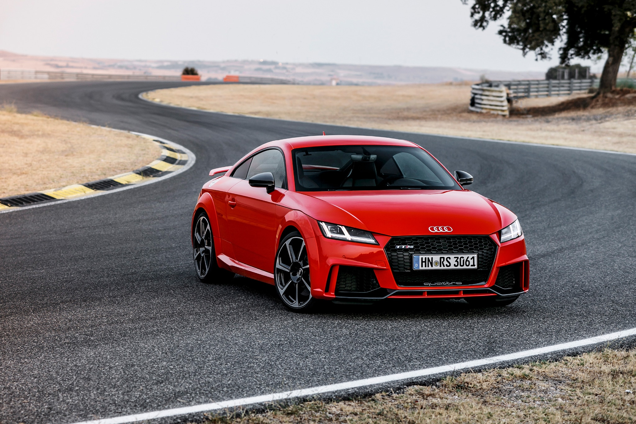 First Drive: 2018 Audi TT RS Coupe | Automobile Magazine