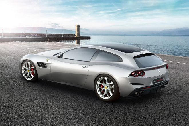2018 Ferrari GTC4Lusso T rear three quarter