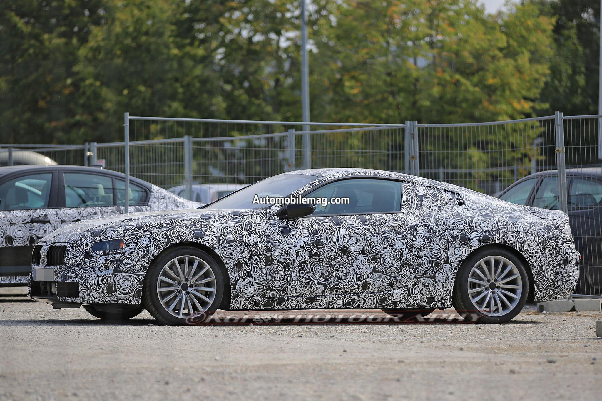 BMW 8 Series Spied Will Take on SClass Coupe  Automobile Magazine