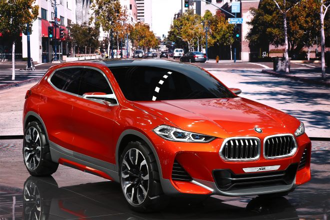 BMW X2 Concept front three quarter 01