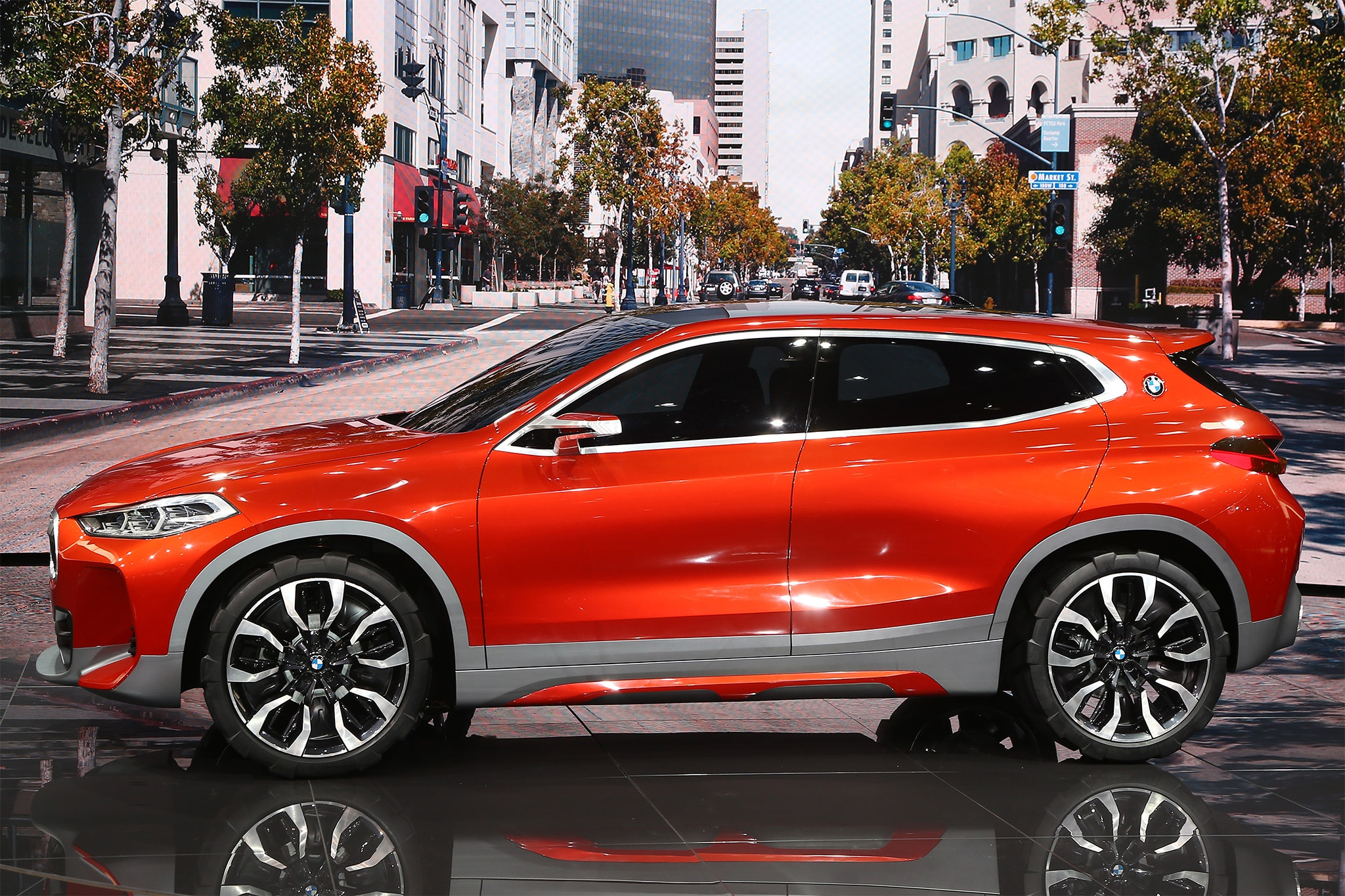 BMW X2 Concept Side Profile 03
