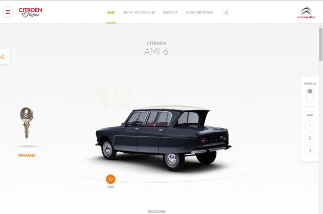 Citroen Website History 3