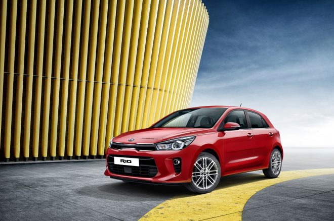 Kia Rio revealed ahead of Paris debut