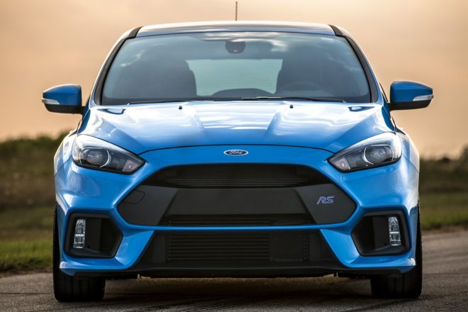 Hennessey Ford Focus RS front end