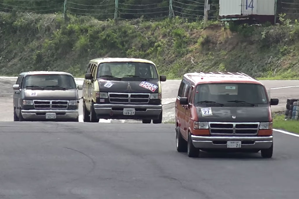 Find Out Why Dodge Van Racing is a Thing in Japan ...