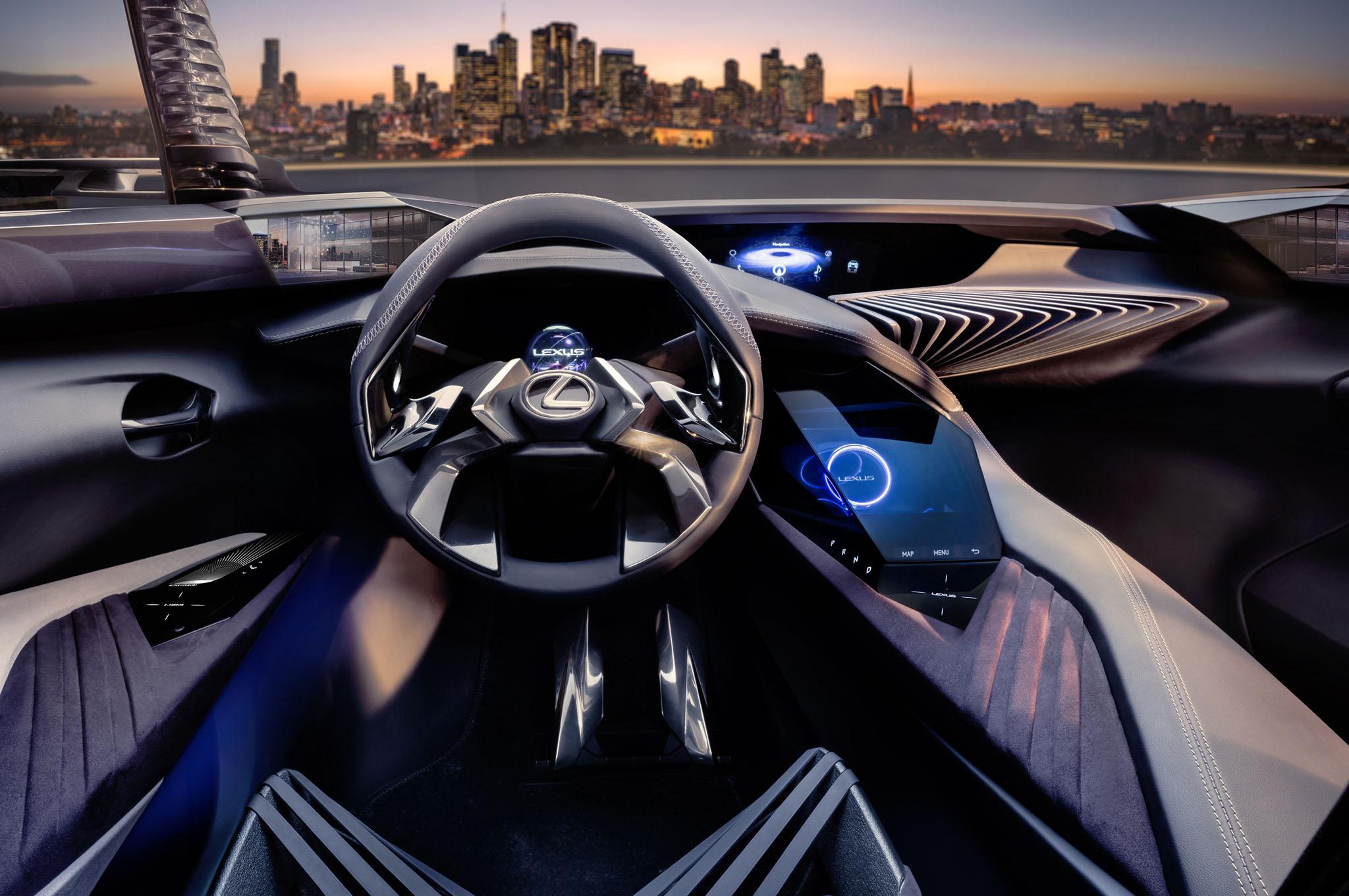 Lexus UX Concept Interior