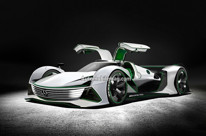 Mercedes AMG R50 Render
