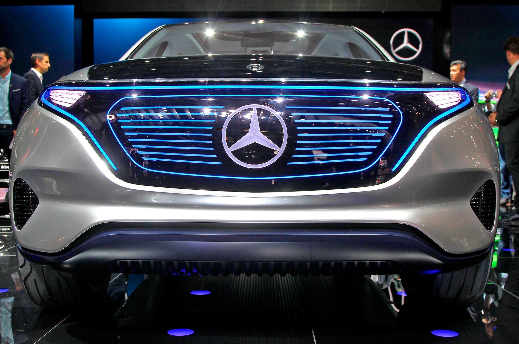Mercedes Benz Generation EQ Concept Front End