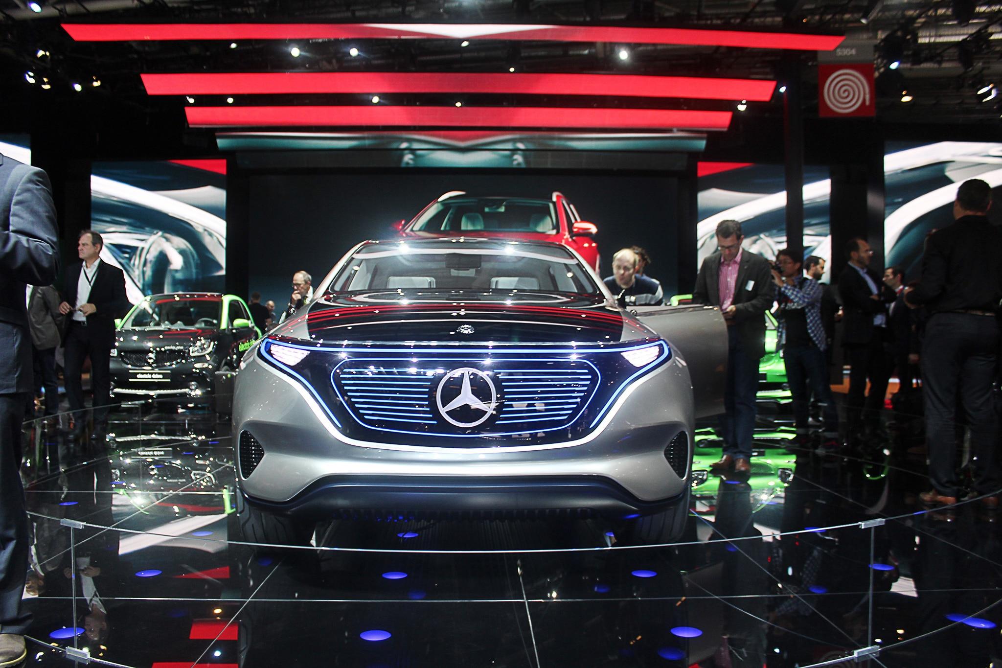Mercedes Benz Reveals Electric Generation Eq Concept Suv