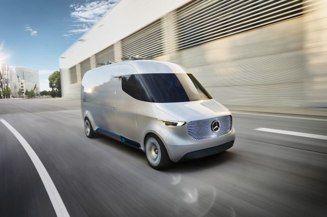 Mercedes-Benz Concept Van Is a Drone Delivery Vehicle