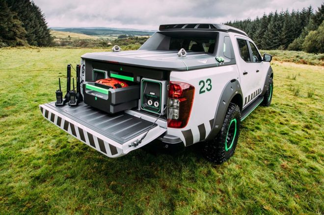 World debut of Navara-based emergency rescue concept