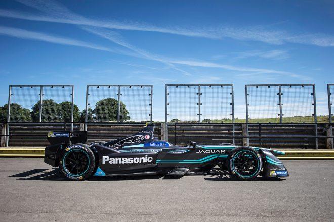 Panasonic Jaguar Racing Formula E I Type Right Side 2