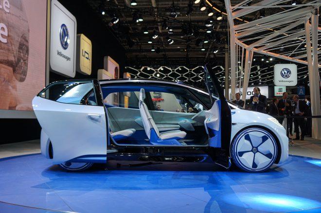 Volkswagen ID Concept Paris Side Doors Open 660x438