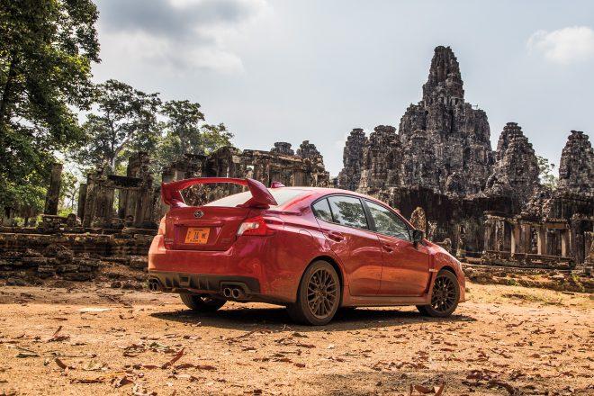 WRX STI in Cambodia 10
