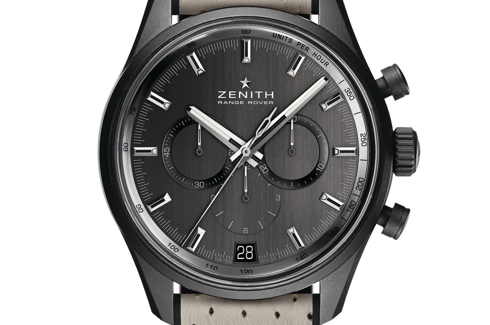 The New Zenith El Primero Range Rover Watch Is