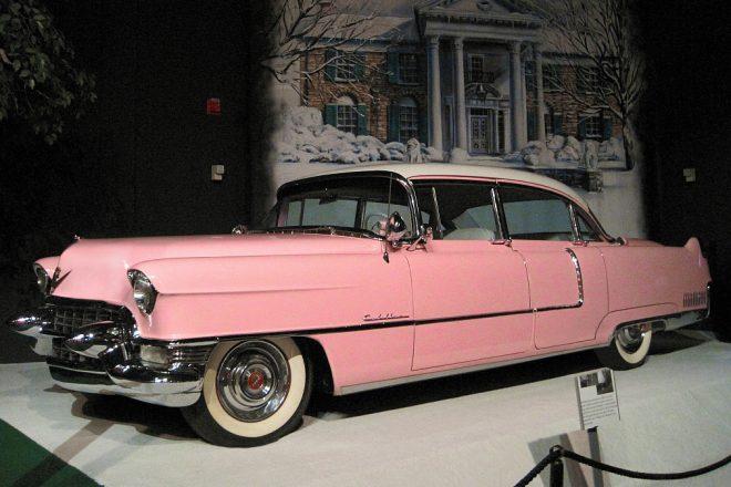 1954 Pink Cadillac Fleetwood Series 60