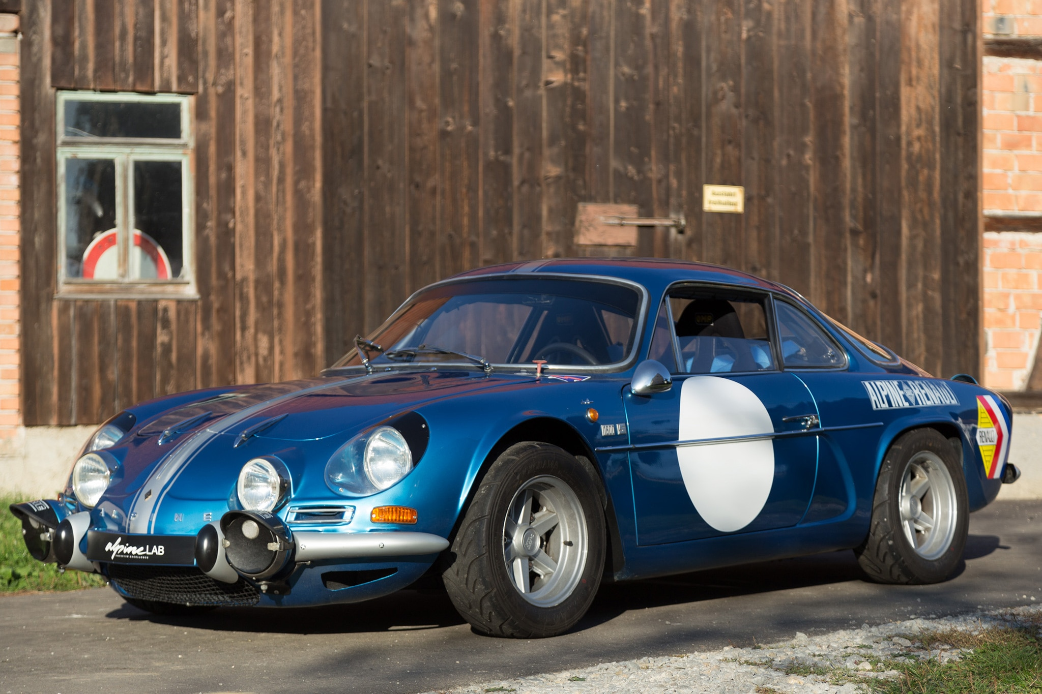 Just Listed 1971 Renault Alpine A110 Period Correct Rally Weapon on kia 4 cylinder