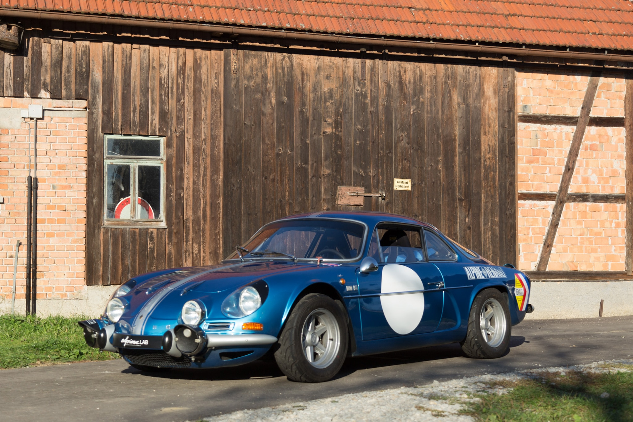 1971 Renault Alpine A110 1600S Petrolicious Front Three Quarter 03