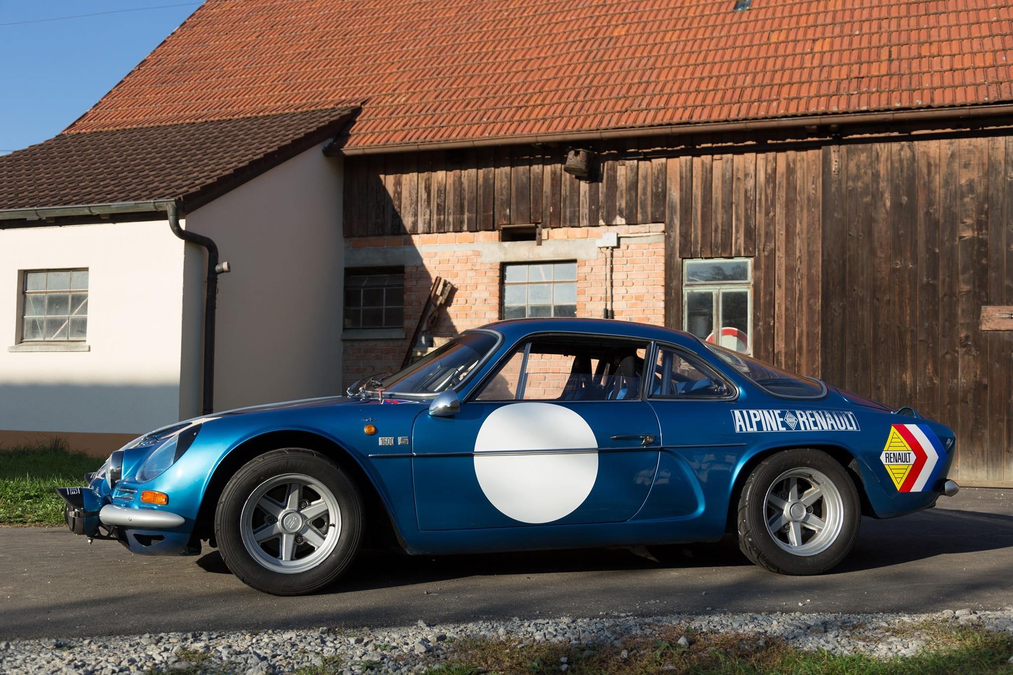 1971 Renault Alpine A110 1600S Petrolicious Side Profile 01