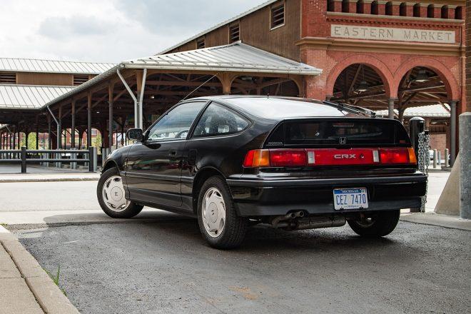 1988 Honda CRX Si Rear Three Quarter 660x440