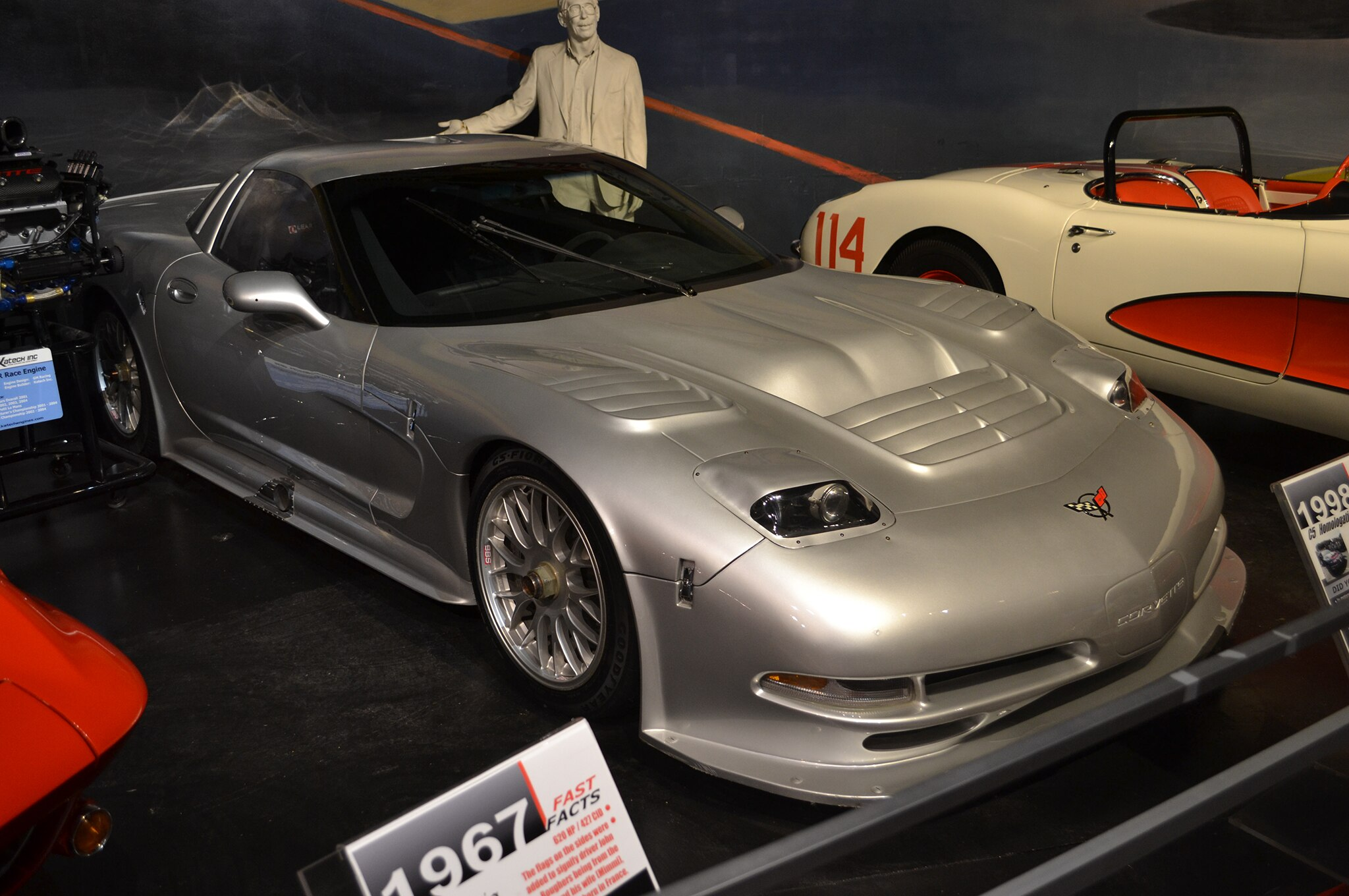 1998 Chevrolet C5 Corvette Homologation National Corvette Museum
