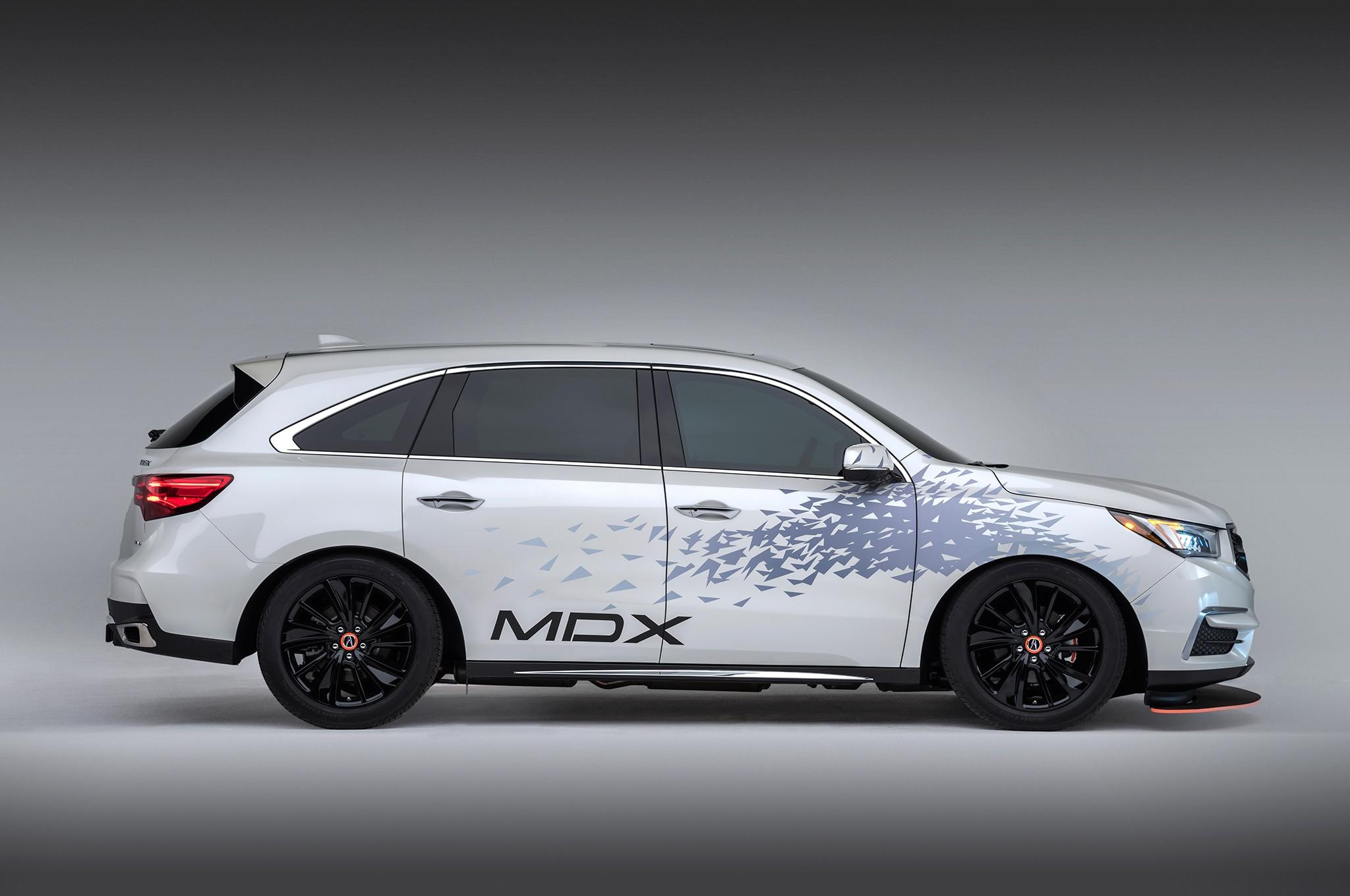 SEMA 2016: Customized Acura MDX to Tow NSX GT3 Racer | Automobile Magazine
