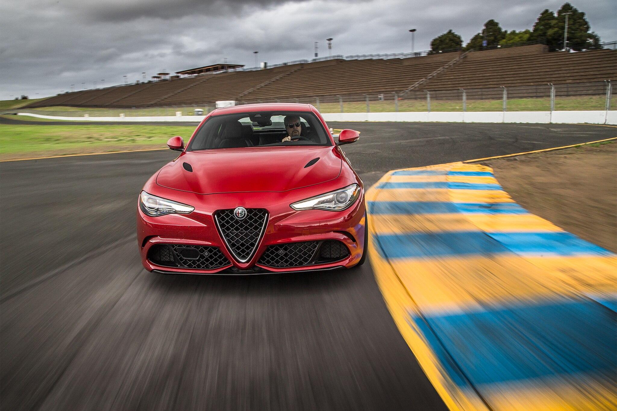 Lastest 2017 Alfa Romeo Giulia Quadrifoglio US Spec First Drive