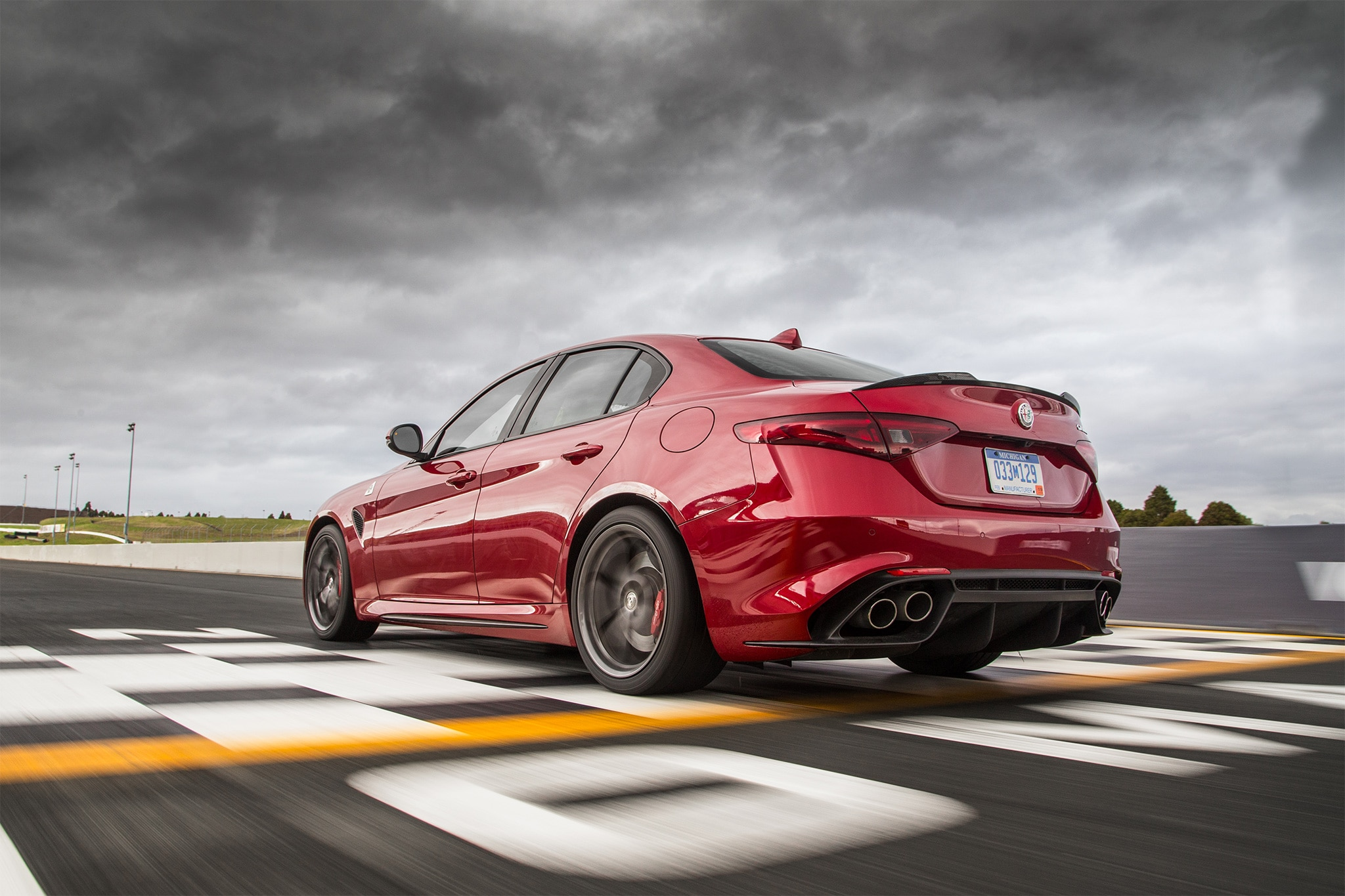 Innovative 2017 Alfa Romeo Giulia Quadrifoglio US Spec First Drive