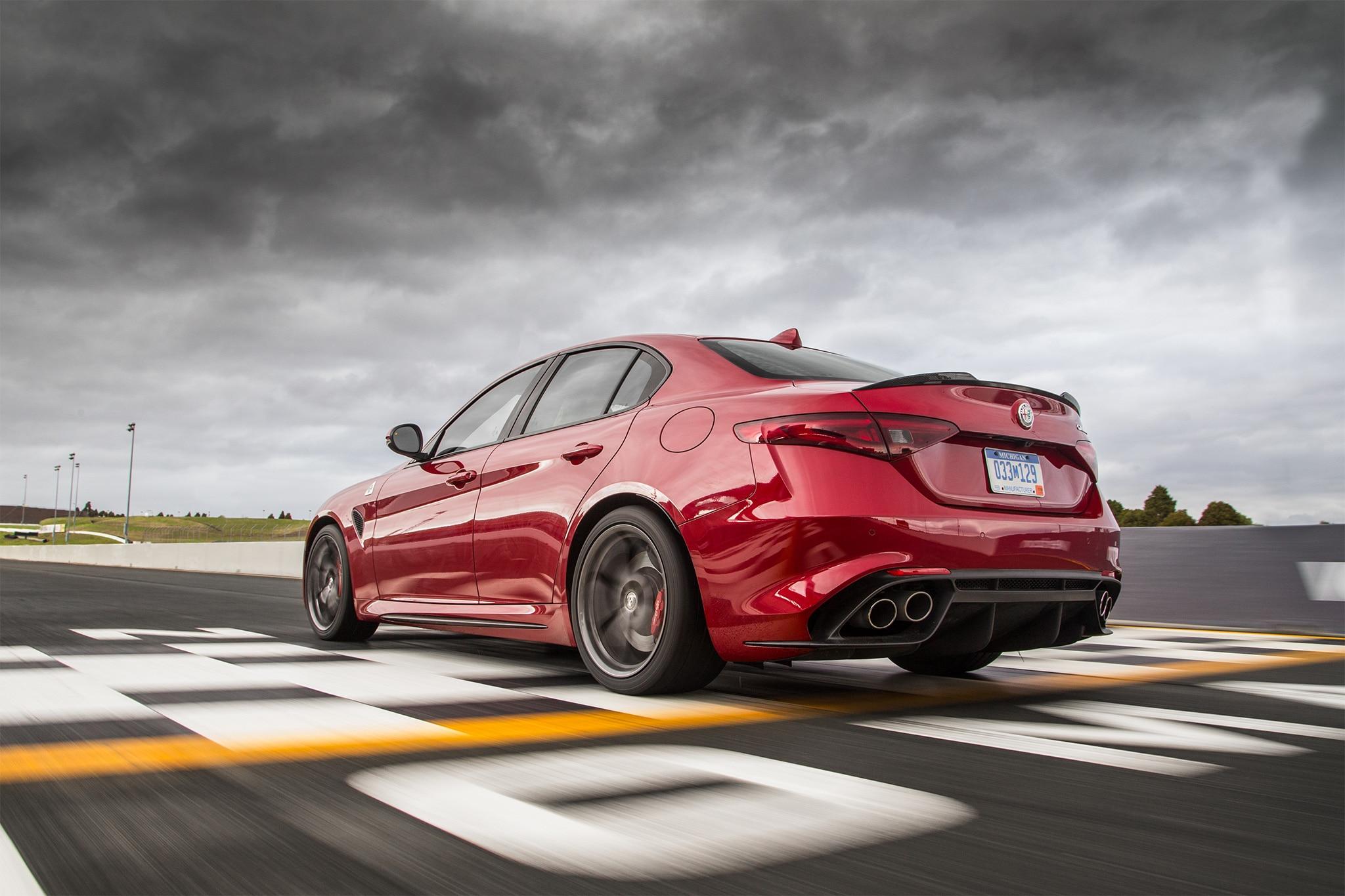 Innovative 2017 Alfa Romeo Giulia Quadrifoglio US Spec First Drive