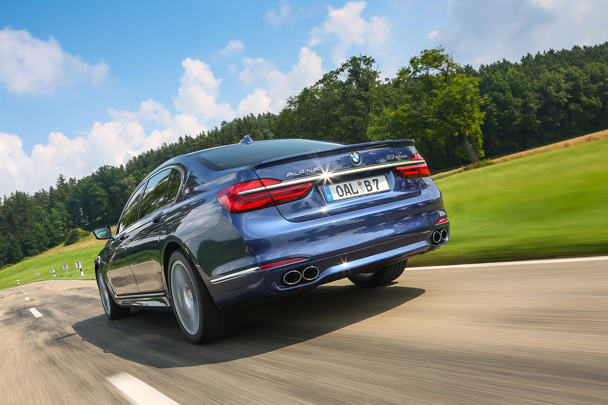 BMW Alpina B XDrive One Week Review Automobile Magazine - Alpina bmw b7