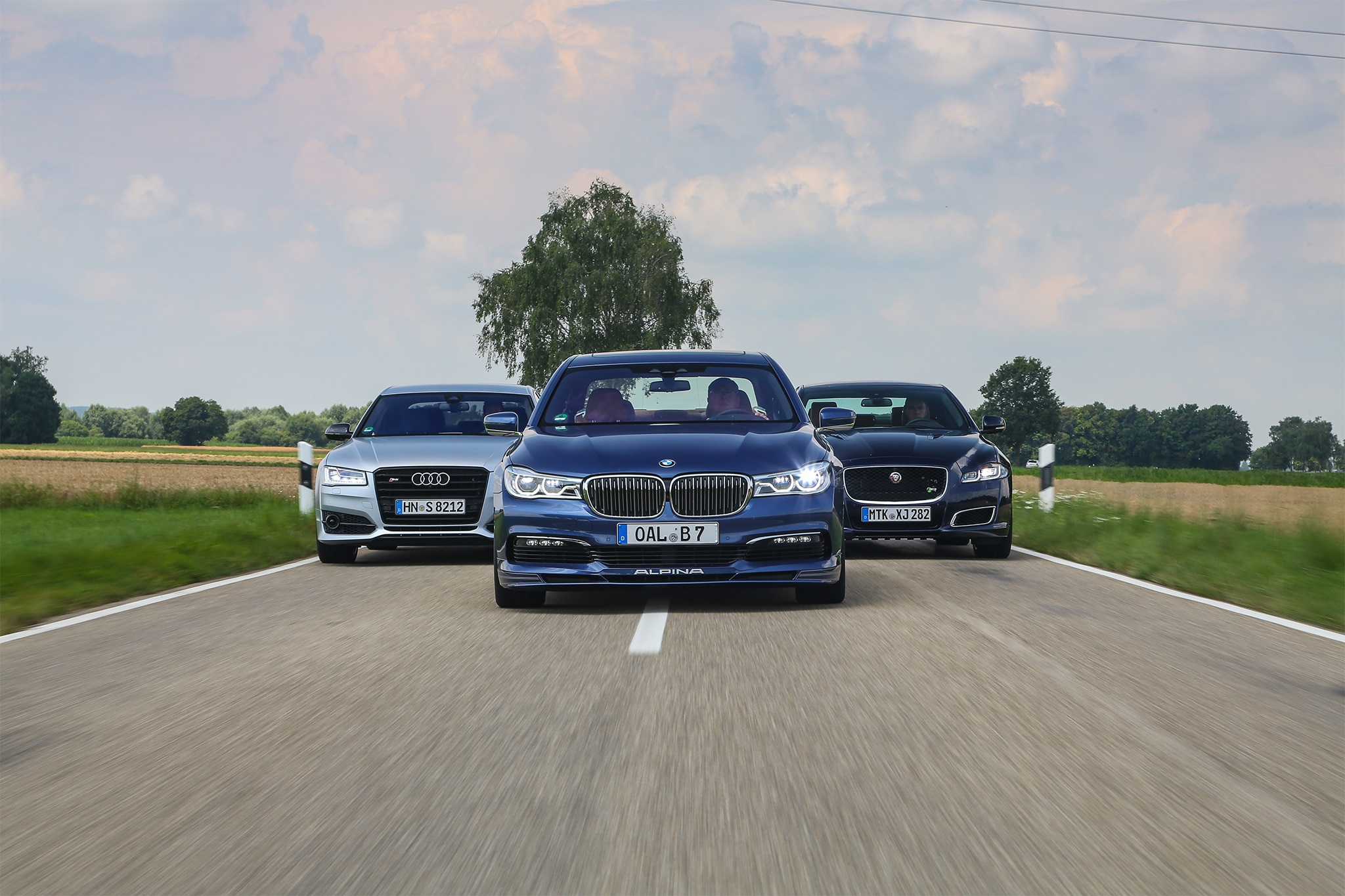 2017 BMW Alpina B7 XDrive Vs Audi S8 Plus 2016 Jaguar